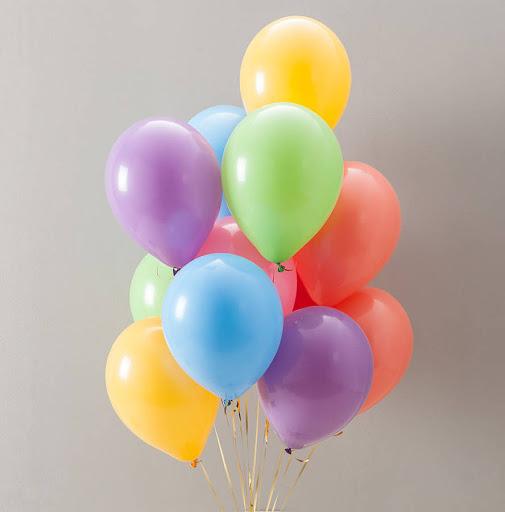 набор шаров пастель разноцветные